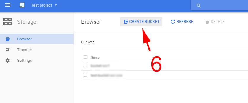 create-bucket